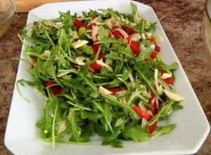 Izgara Kalamar Salatası